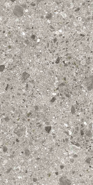 Bodenfliese Inalco Iseo gris 100x100 bush hammered grau
