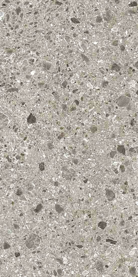 Bodenfliese Inalco Iseo gris 20x20 bush hammered grau